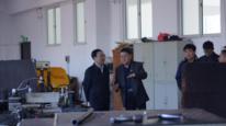鐵嶺市教育局王君局長到市信息工程學校調研指導工作