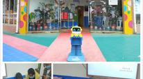 沃柯雷克晨檢機器人助力多地幼兒園開著開學防疫工作