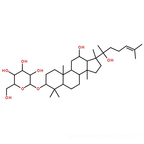 (R型)人参皂苷Rh2,(R)Ginsenoside Rh2,112246-15-8 ,中药标准品,对照品