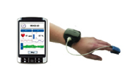 无线心率及血氧饱和度实时测试系统