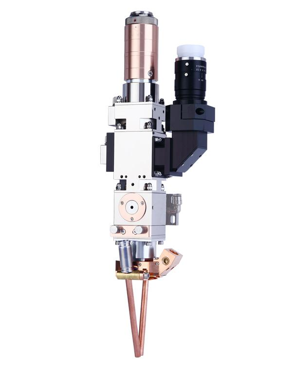華威光纖激光焊接機頭HWL-GQHJ-01S同軸送氣焊接效果好
