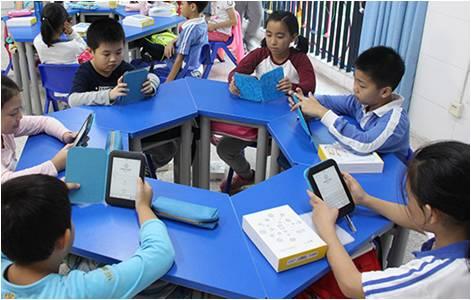 """柠檬悦读助力平山小学信息化建设""""分级阅读实验班""""效果显著"""