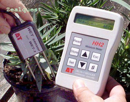 WET土壤水分/鹽分/溫度計