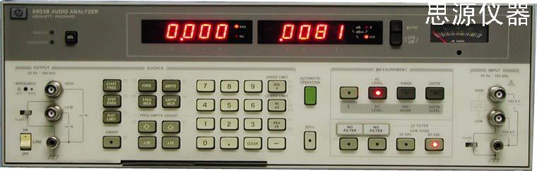 音頻分析儀 HP 8903B Audio Analyzer