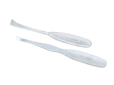 国产单头骨刮匙 15cm (弓状) 右刃口3