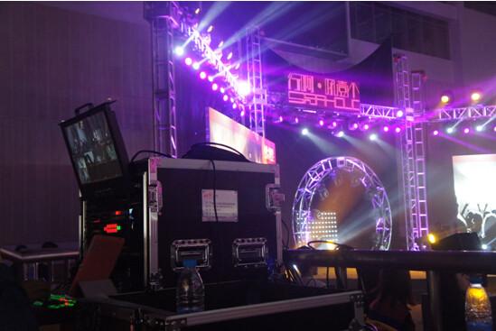 箱载移动导播台在晚会直播中的应用