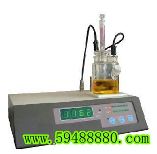 微量水分测定仪 型号:SHR/SFY-3