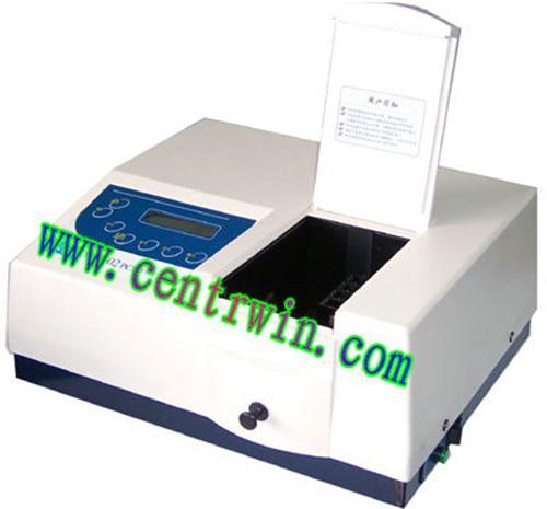 紫外分光光度计(含软件 可变狭缝) 型号:SMYUV-7502PCS