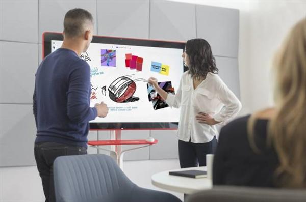 Google发布55寸超大屏触摸电子白板